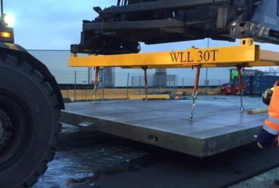 Utviklingsprosjekt baneendefelt med prefabrikkerte betongdekker