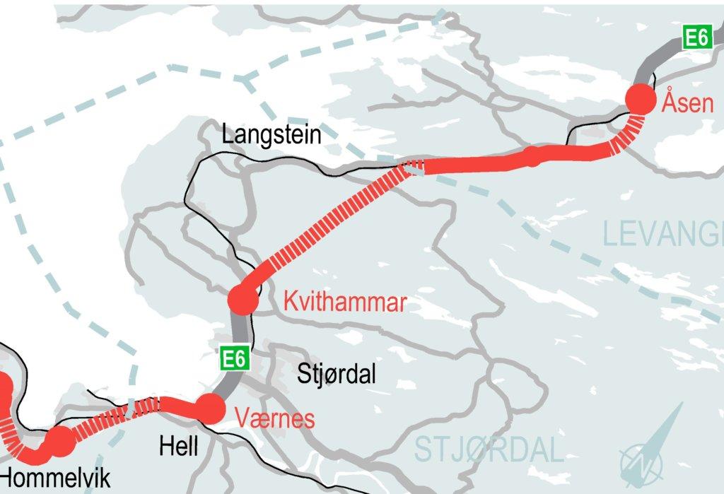 E6 Kvithammar Åsen